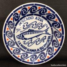 Antigüedades: PLATO SARGADELOS FROM PESCADO AZUL. Lote 203543235