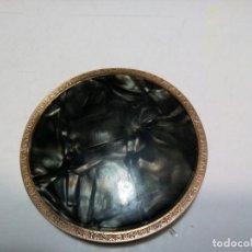 Antigüedades: *POLVERA DORADA. TAPA GALATITA. (RF:M-38/B). Lote 203564260