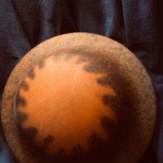 Antigüedades: TULIPA LAMPARA TECHO TIPO MULLER FRERES FRANCIA NO FIRMA MITAD S XX 15,5X46,5CMS. Lote 203567540