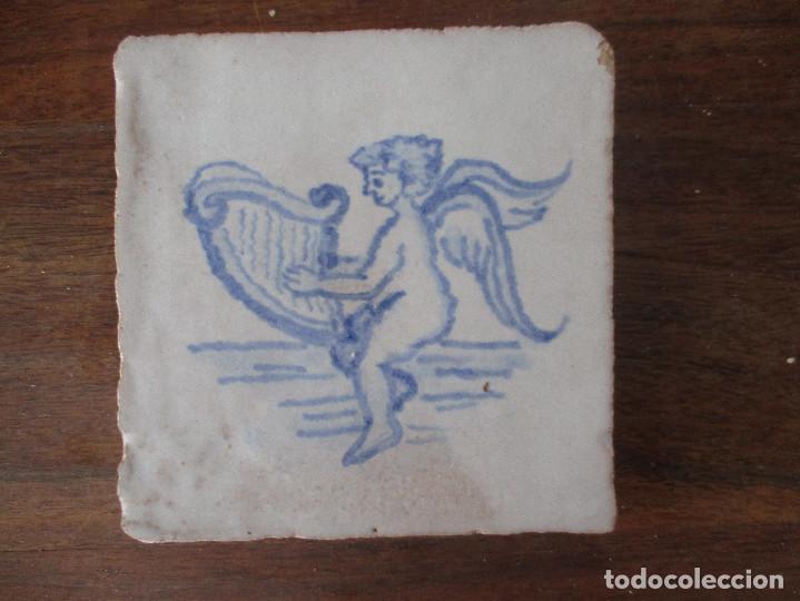 AZULEJO PINTADO (Antigüedades - Porcelanas y Cerámicas - Azulejos)