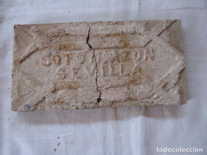 Antigüedades: Azulejo siglo XIX (Triana) Soto y Mazon - Foto 2 - 203574788