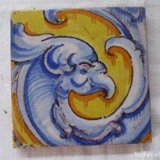 Antigüedades: AZULEJO PINTADO RAMOS REJANO. Lote 203576841