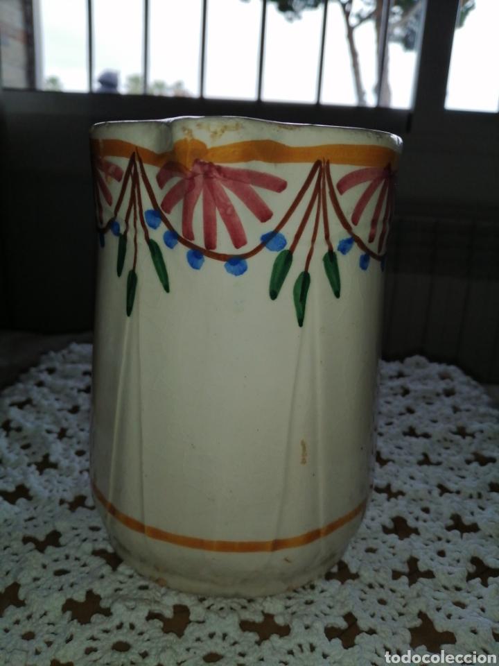 Antigüedades: Antigua jarra en ceramica - Foto 2 - 203603268