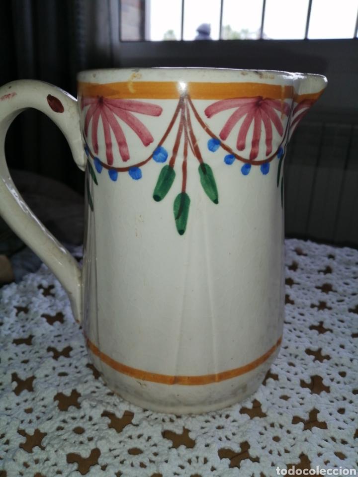 Antigüedades: Antigua jarra en ceramica - Foto 3 - 203603268