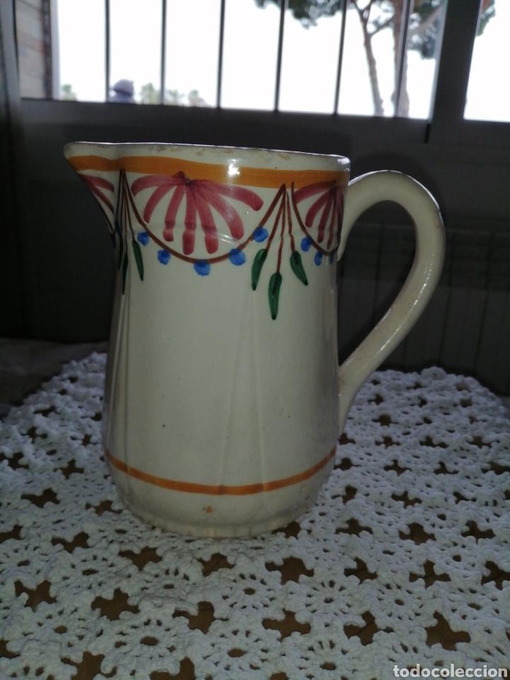 ANTIGUA JARRA EN CERAMICA (Antigüedades - Porcelanas y Cerámicas - Talavera)