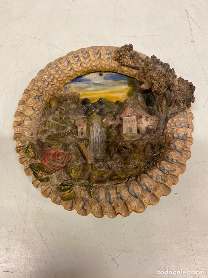 Antigüedades: Tondo de terracota modernista circa 1900 - Foto 2 - 203607441