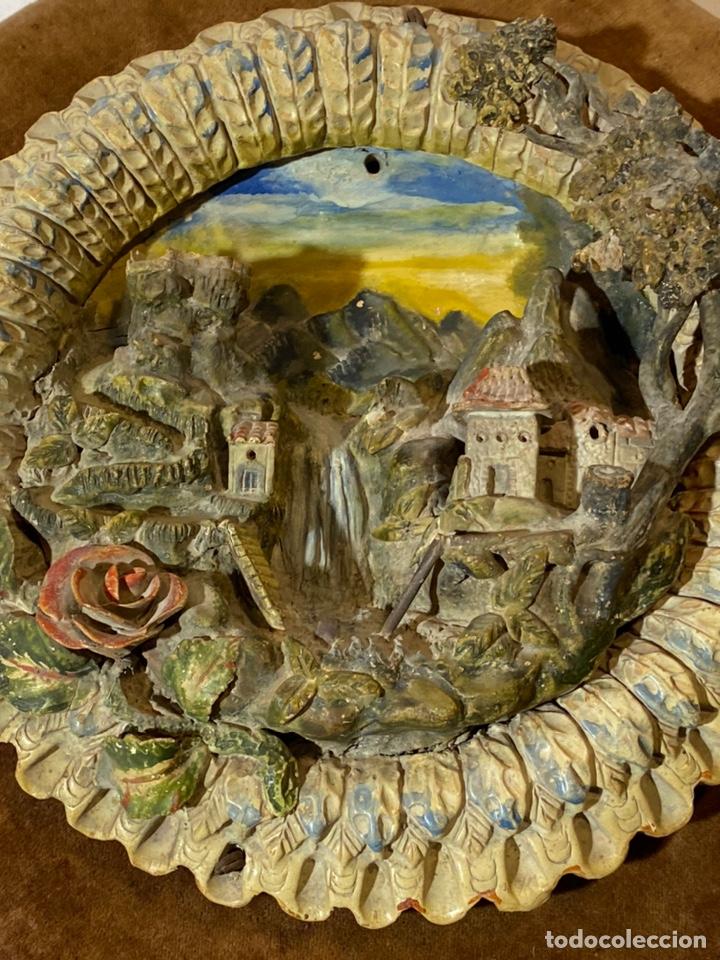 Antigüedades: Tondo de terracota modernista circa 1900 - Foto 5 - 203607441