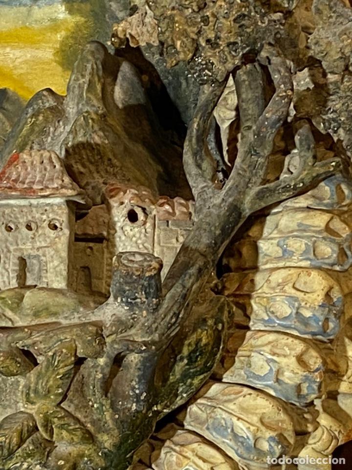 Antigüedades: Tondo de terracota modernista circa 1900 - Foto 6 - 203607441