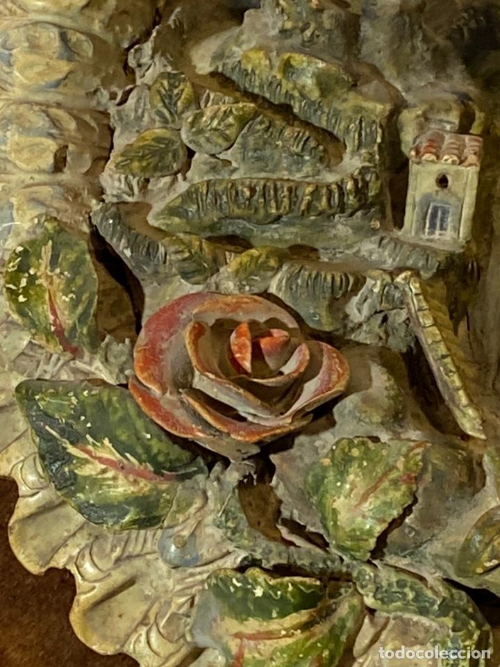 Antigüedades: Tondo de terracota modernista circa 1900 - Foto 7 - 203607441
