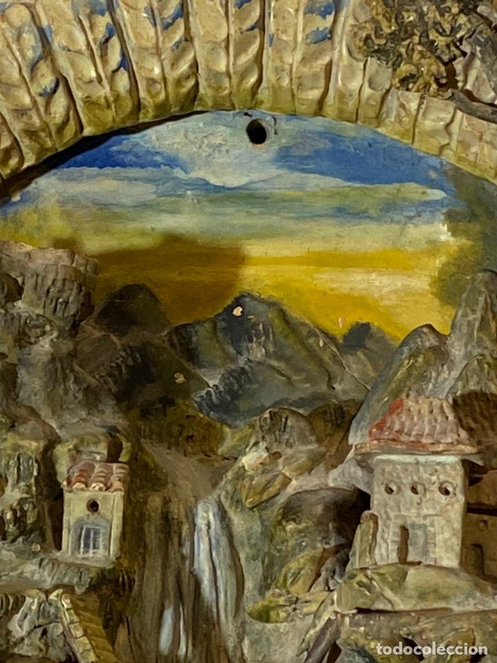 Antigüedades: Tondo de terracota modernista circa 1900 - Foto 8 - 203607441