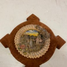 Antigüedades: TONDO DE TERRACOTA MODERNISTA CIRCA 1900. Lote 203607441