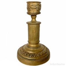 Antigüedades: PEQUEÑO CANDELABRO EN BRONCE ESTILO IMPERIO - SIGLO XIX. Lote 203617383