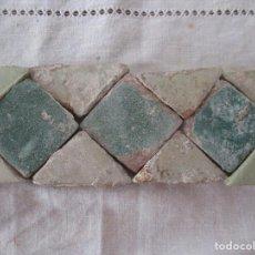 Antigüedades: AZULEJOS MUDEJARES SIGLO XVI O ANTERIORES. Lote 203620293