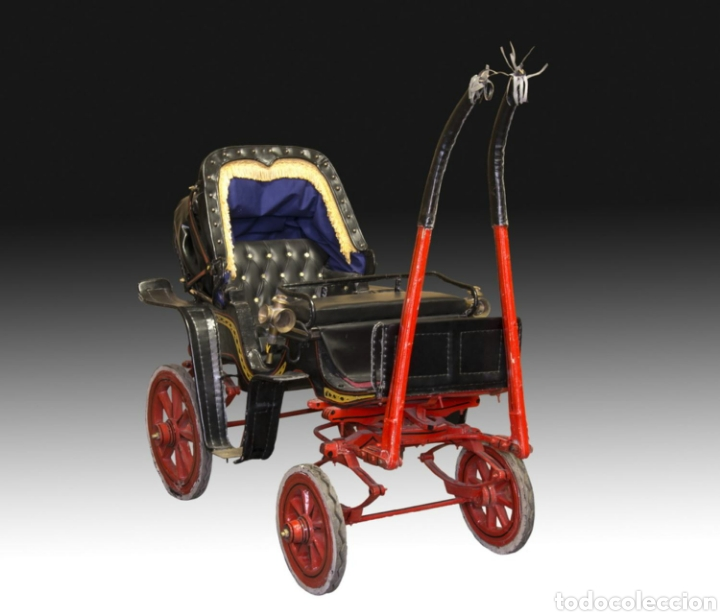 Antigüedades: Carruaje de poni - Foto 15 - 180210911