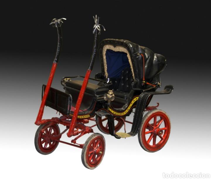 Antigüedades: Carruaje de poni - Foto 17 - 180210911