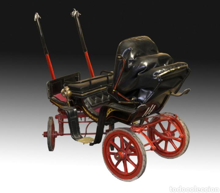 Antigüedades: Carruaje de poni - Foto 18 - 180210911