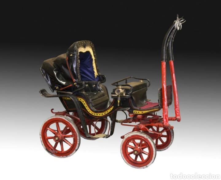 Antigüedades: Carruaje de poni - Foto 19 - 180210911