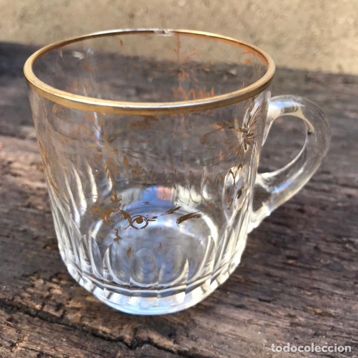 Antigüedades: Antigua jarra de cristal La Granja - Foto 2 - 267124694