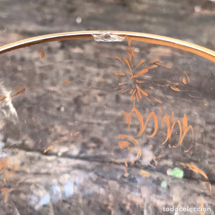 Antigüedades: Antigua jarra de cristal La Granja - Foto 3 - 267124694