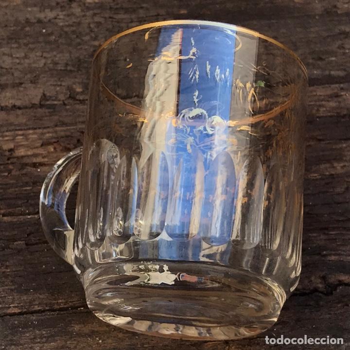 Antigüedades: Antigua jarra de cristal La Granja - Foto 4 - 267124694