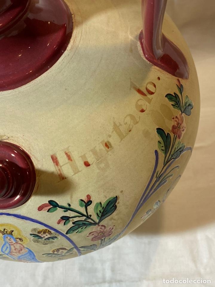 Antigüedades: Cantarilla de novia en cerámica de Onda, Castellon s.XIX - Foto 4 - 203813155