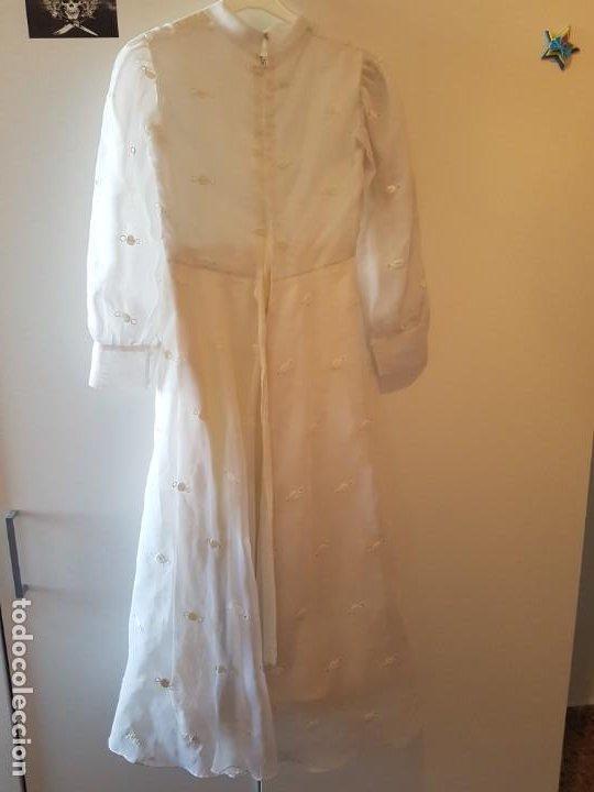 Antigüedades: Vestido de comunión español de los años 70-80 - Foto 6 - 203823173