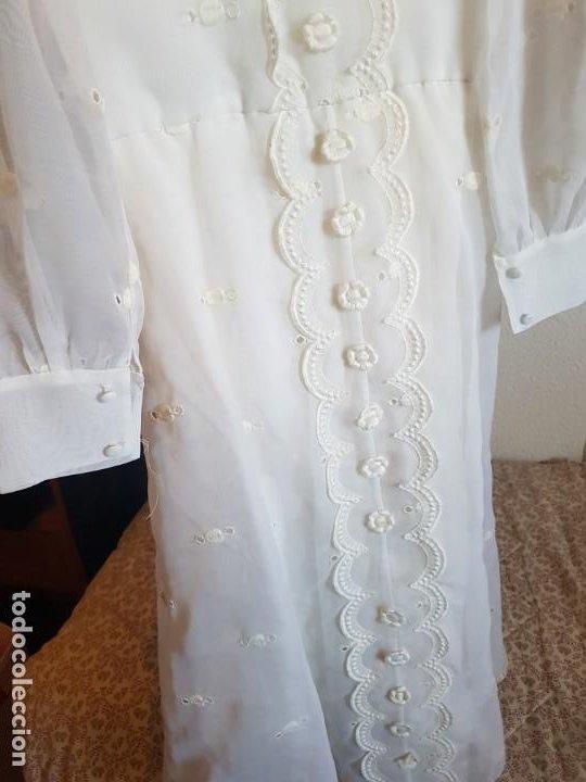 Antigüedades: Vestido de comunión español de los años 70-80 - Foto 9 - 203823173