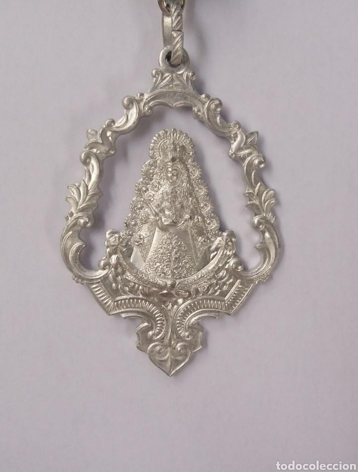 MEDALLA VIRGEN DEL ROCIO PATRONA DE ALMONTE (Antigüedades - Religiosas - Medallas Antiguas)