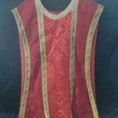 Antigüedades: CASULLA 102 DE LARGO X 43 DE ANCHO CM. Lote 203828991