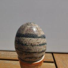 Antigüedades: PEDIDO MINIMO 6€ HUEVO DECORACION MARMOL PULIDO - MEDIDAS APROXIMADAS DIAMETRO 5.5CM X 7CM ALTO. Lote 203830787