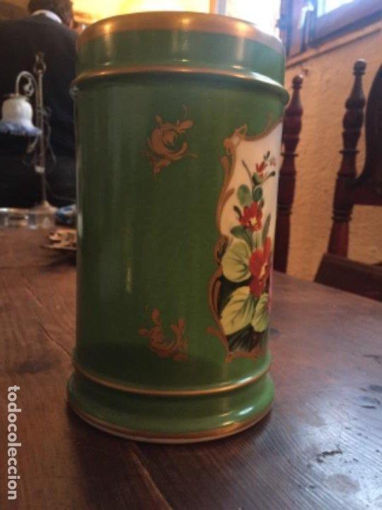 Antigüedades: Porcelana ppos.S.XX pintada - Foto 4 - 203838607