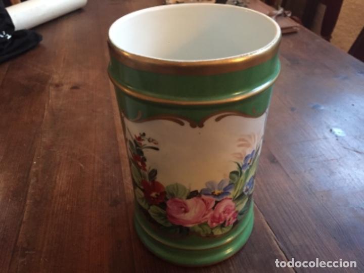 Antigüedades: Porcelana ppos.S.XX pintada - Foto 6 - 203838607