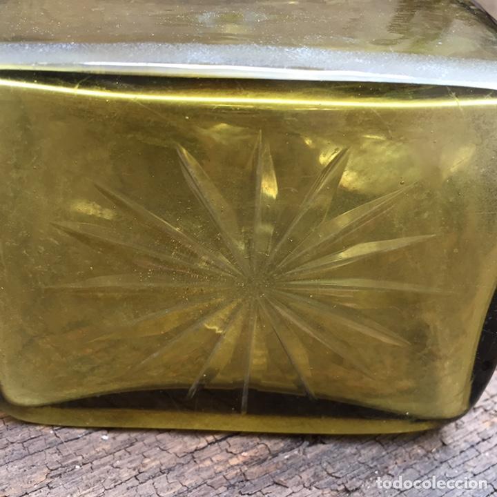Antigüedades: Antiguo licorero (brandy)cristal y plata SXIX - Foto 6 - 203855638