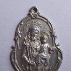 Antigüedades: MEDALLA RELIGIOSA ANTIGUA SAN JOSÉ DE LA MONTAÑA 25 X 40 CM. Lote 203856293