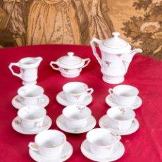 Antigüedades: JUEGO ANTIGUO DE CAFÉ ALEMÁN JÄGER. Lote 203858833