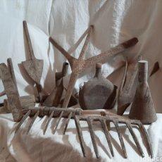Antiquités: LOTE DE HERRAMIENTA PARA EL CAMPO AGRICULTURA. Lote 203862907
