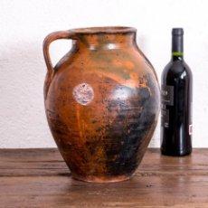 Antigüedades: VASIJA DE BARRO II. Lote 203879777