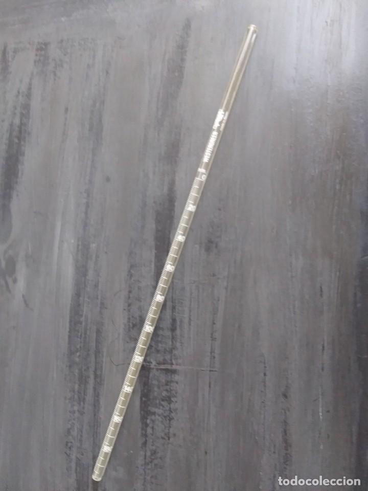 Antigüedades: pipeta de cristal westergreen 200 ml - Foto 2 - 203884660