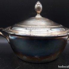 Antigüedades: SOPERA DE ALPACA. Lote 203922628