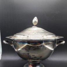 Antigüedades: SOPERA DE ALPACA. Lote 203922963