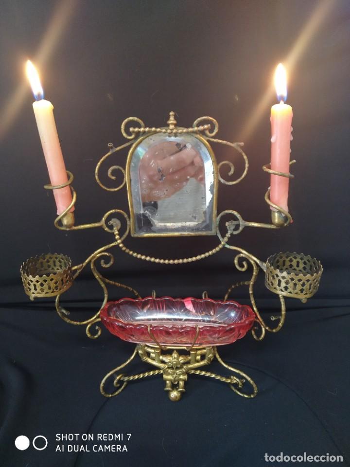 ALHAJERO AÑO 1900 BACCARAT (Antigüedades - Cristal y Vidrio - Baccarat )