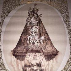 Antigüedades: PRECIOSA LITOGRAFÍA VIRGEN DE LOS REMEDIOS-AÑO 1939 AÑO DE LA VICTORIA. Lote 204015003