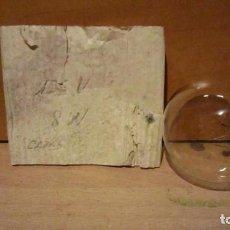 Antiguidades: CURIOSA BOMBILLA DE 125V 8W ROSCA E27 10 CM DE LARGO.. Lote 204061277