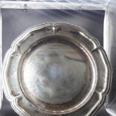 Antigüedades: BANDEJA DE ALPACA. Lote 204065456