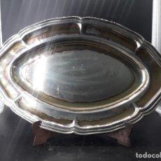 Antigüedades: BANDEJA DE ALPACA. Lote 204066275