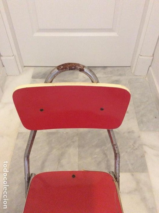 Antigüedades: Silla niño o niña para restaurar - Foto 3 - 204072861