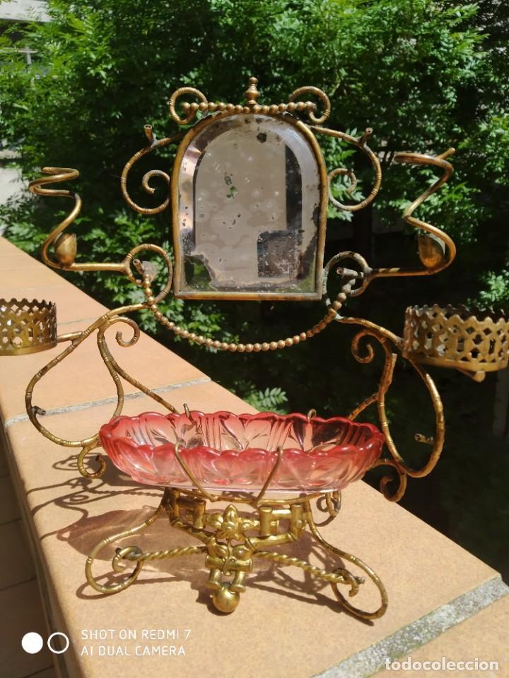 ALHAJERO PERFUMERO BACCARAT 1900 (Antigüedades - Cristal y Vidrio - Baccarat )