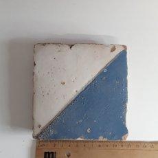 Antigüedades: AZULEJO GÓTICO ESTILO DEL MOCADORET SIGLO XVI. Lote 204115880
