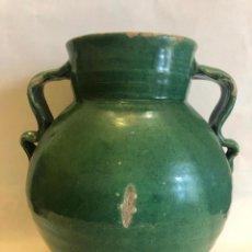 Antigüedades: ORZA DE TRIANA DE ASAS DE TIRABUZONES. Lote 204180981