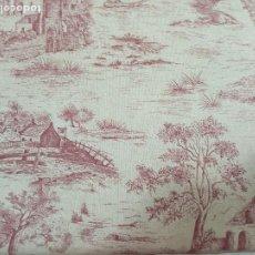 Antigüedades: ESTOR ,CORTINA TOILE DE JOUY. Lote 204190061